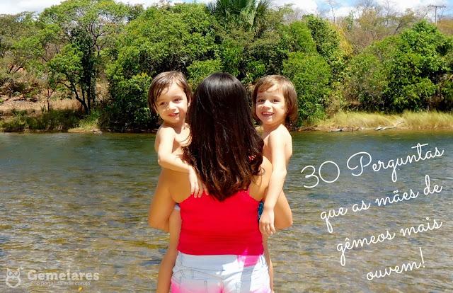 30 Perguntas que as mães de gêmeos mais ouvem