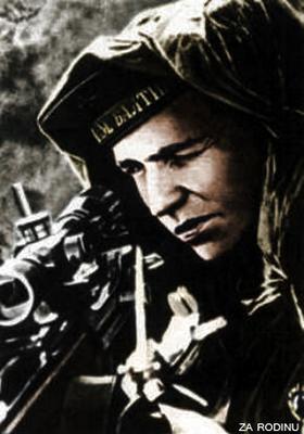 WW2 Leningrad Front Ivan Antonov Russian sniper