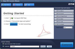 Simpo PDF Converter Ultimate 1.5.2.0