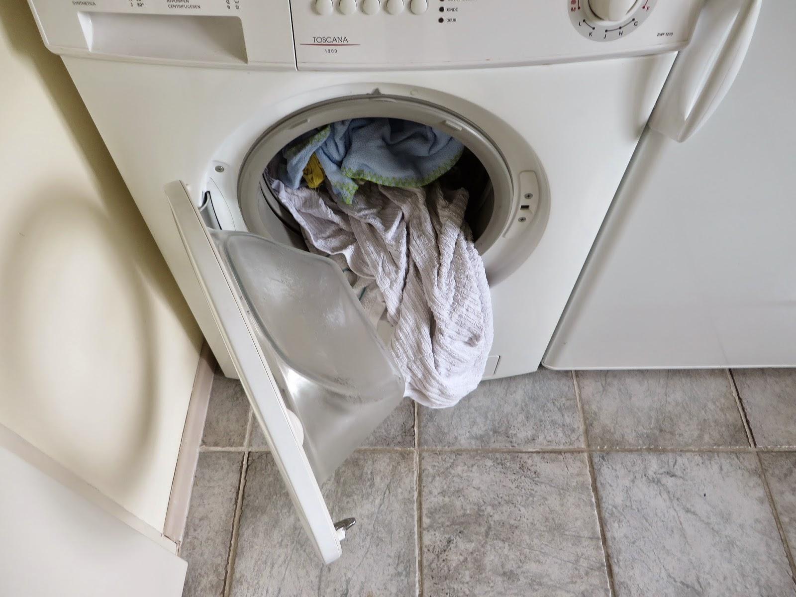 Wasdroger en wasmachine