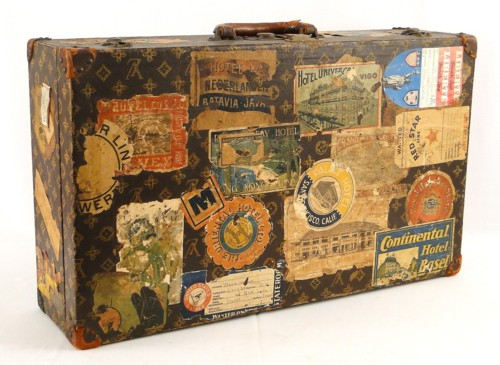 Willow bee inspired paper obsessed no 8 vintage - Vintage suitcase ...