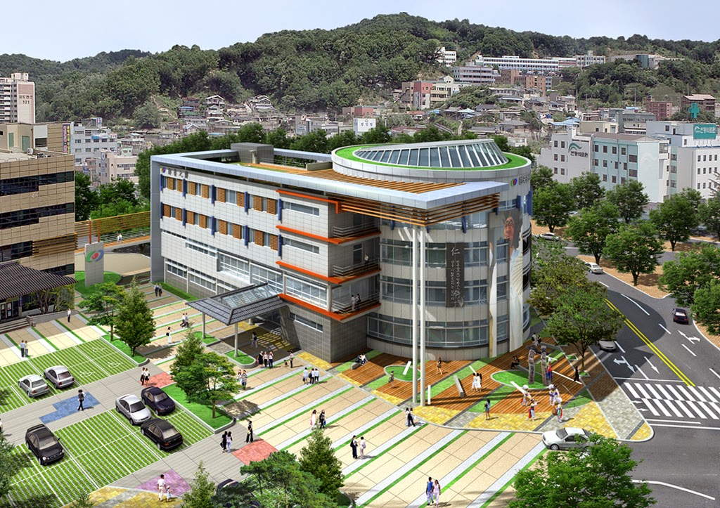 3d architecture in korea for Architecture house design competitions