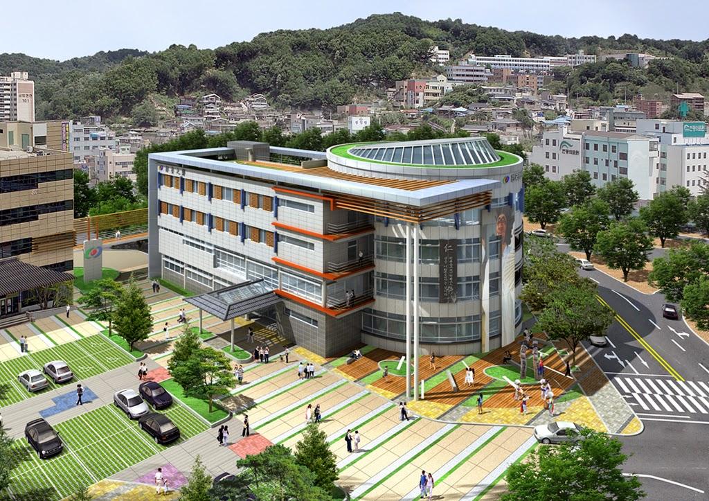 3d Architecture In Korea