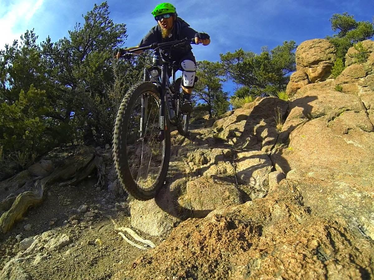 Greg Rides Trails Arkansas Hills Trail System Salida Co