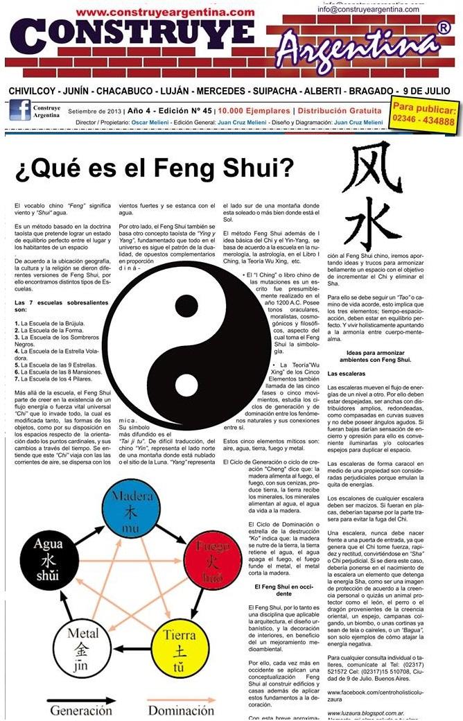 Centro holistico luz aura marzo 2013 - Que es el feng shui ...