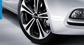 Kia cerato car 2013 tyres/wheel - صور اطارات سيارة كيا سيراتو 2013