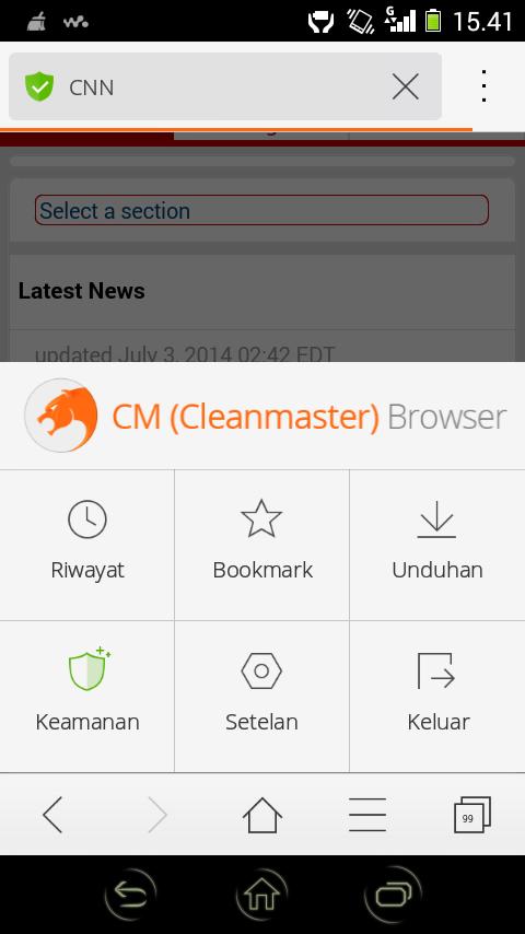 Aplikasi Browser Cepat, Ringan Dan Aman (Daufybhk.blogspot.com)