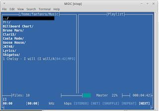 Cara Putar MP3 di Terminal Linux
