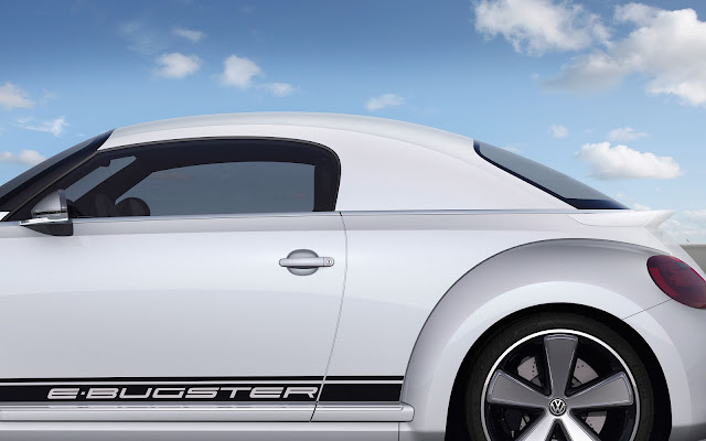 Volkswagen E-Bugster Concept side