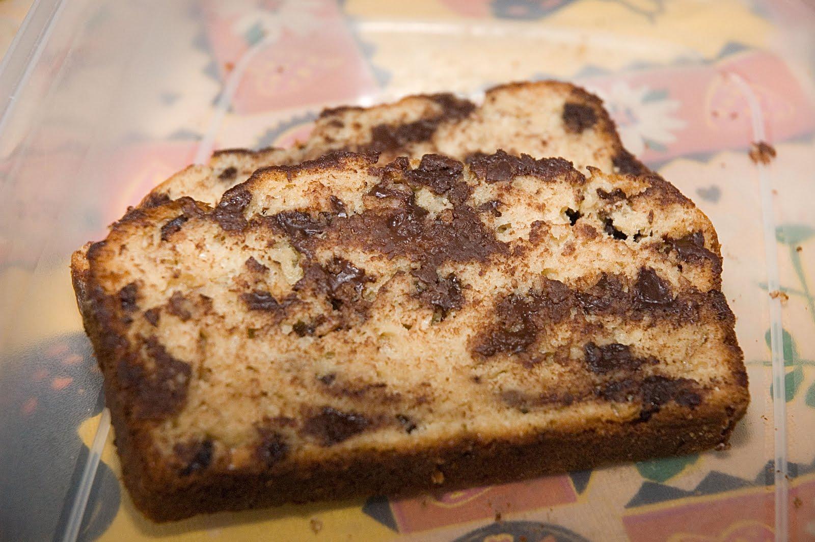 Recette pain banane et pepite de chocolat