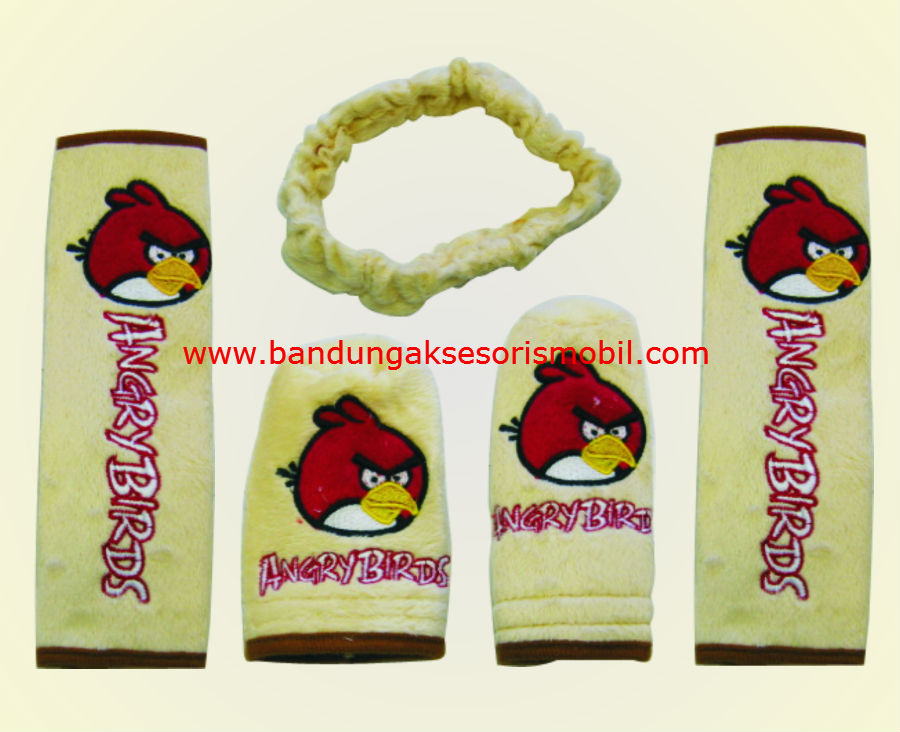 Safety Pad Angry Bird Paket Cream