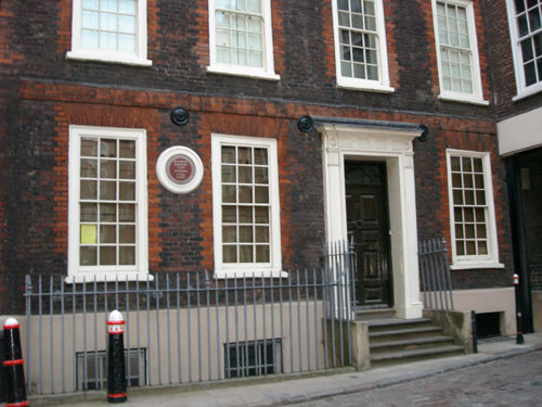 Britain's Blue Plaques Dr Johnson