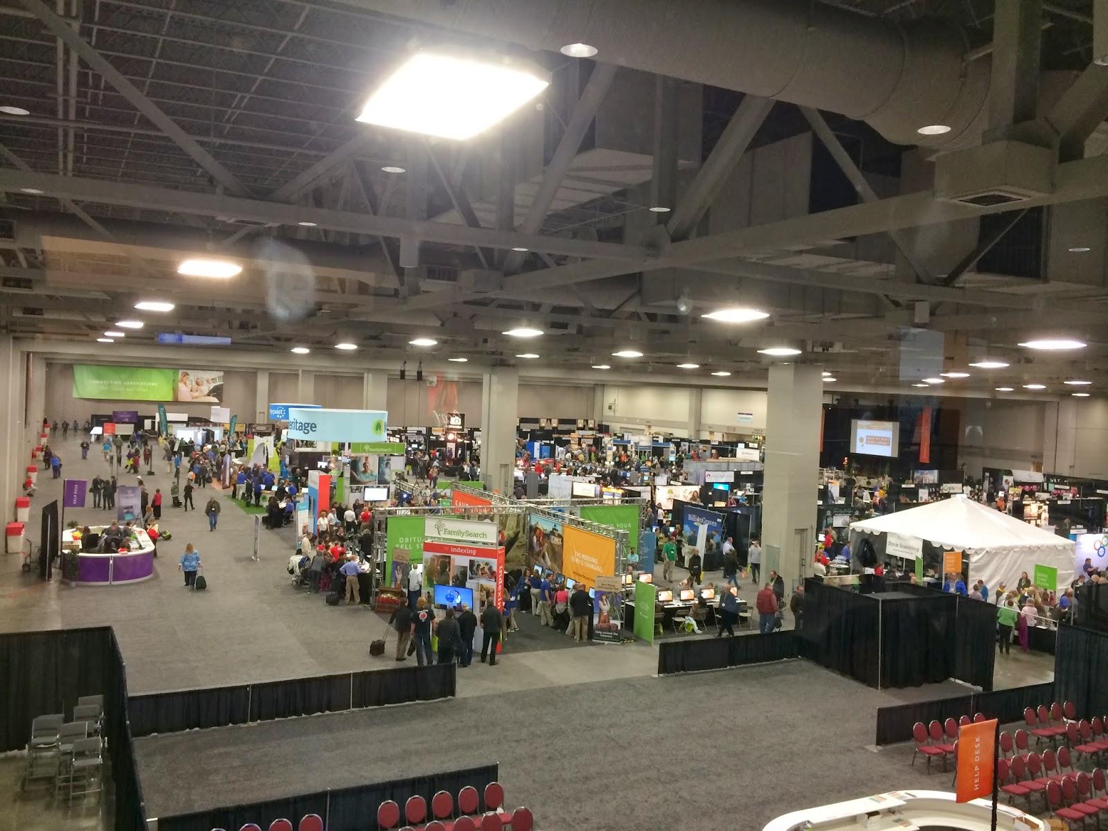Eagle's Eye View of Expo Hall