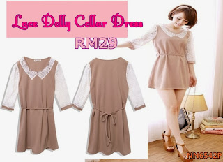 baju fesyen korea murah, September Collection, dress, TOP DRESS
