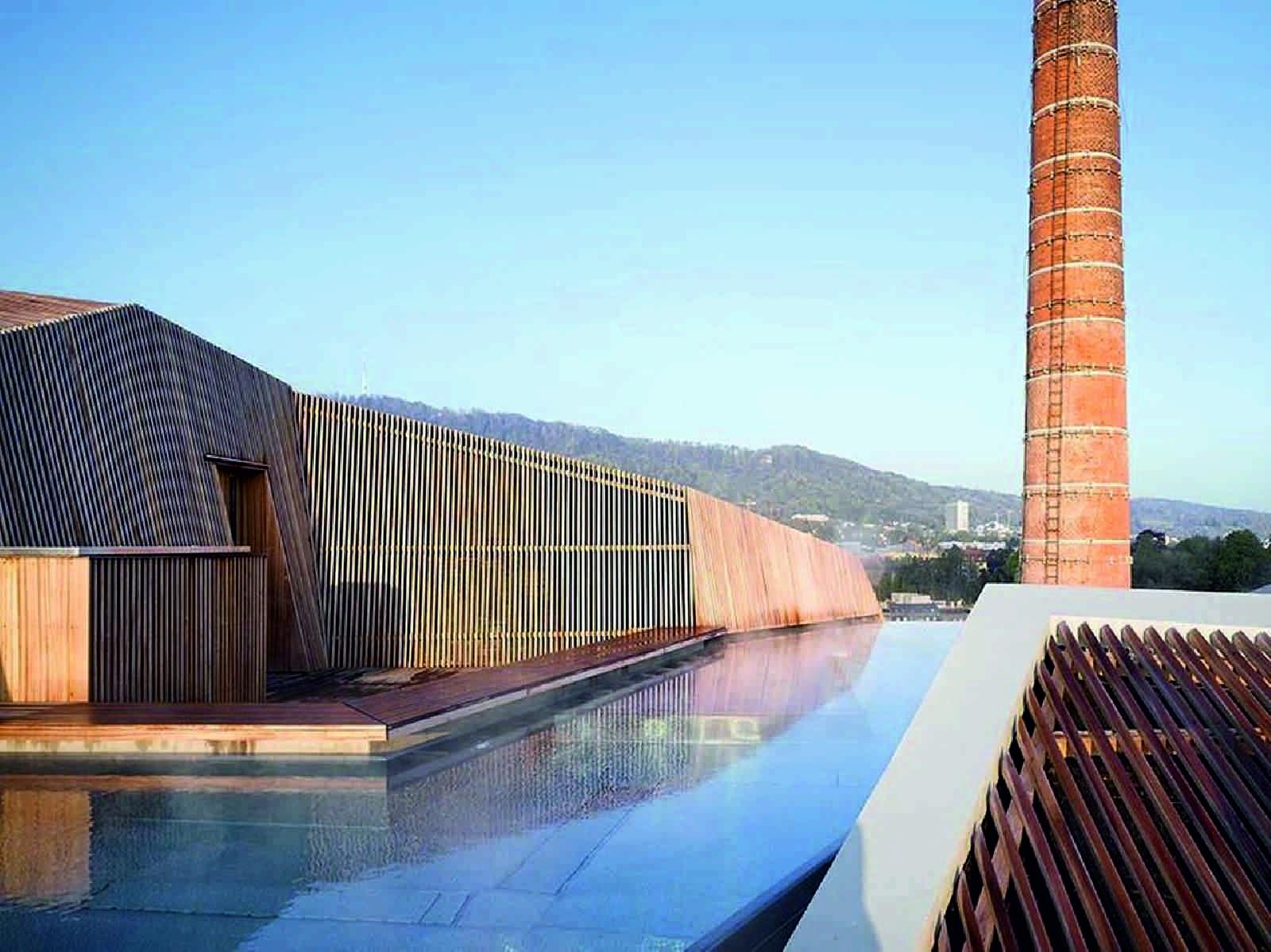 B2 boutique hotel by althammer hochuli architekten for Top boutique hotels zurich