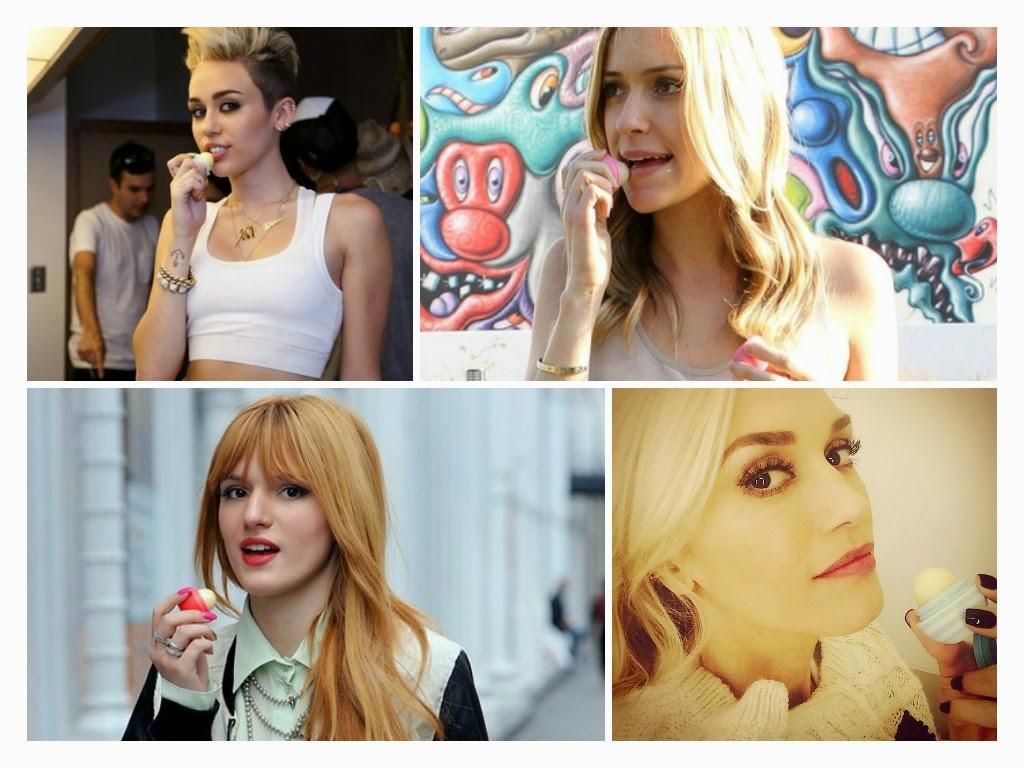 celebrity lip balm eos