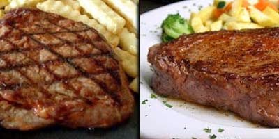 steak daging sapi