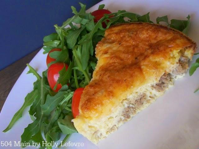 Easy Quiche (aka egg pie) by 504 Main