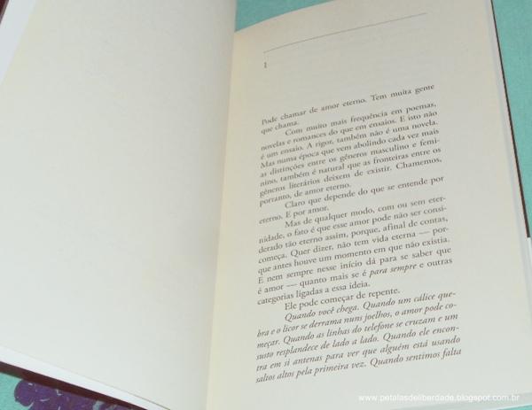 Resenha, livro, Para sempre, Ana Maria Machado, Alfaguara, trechos, Diagramação