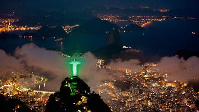 Christ statue in brazil