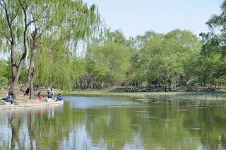 Lake in Yuyuantan Park
