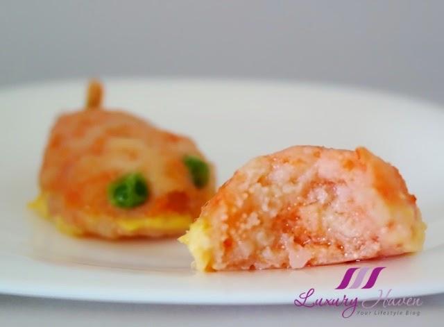 tasty steamed prawn paste golden carp tobiko recipe
