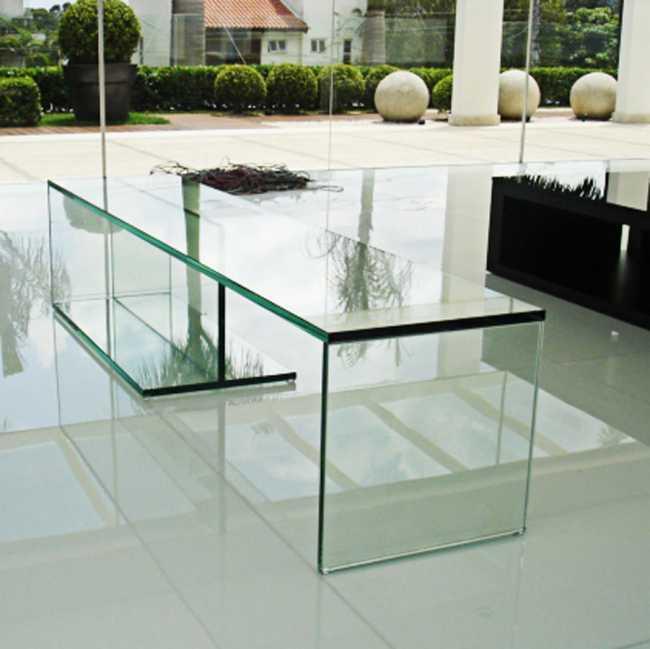 Vidros e Espelhos Aparador de vidro