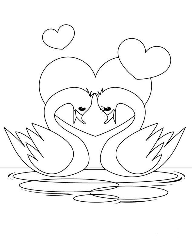 del amor para colorear dibujos en blanco y negro dibujos para colorear ...