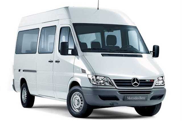 Mercedes Benz Sprinter Panel Van 311 CDI - Xe 16 chỗ