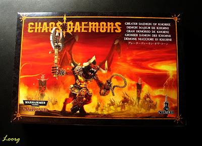Portada de la nueva caja del Gran Demonio de Khorne