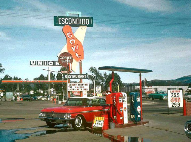 Escondido Bowling Alley and Gas Station
