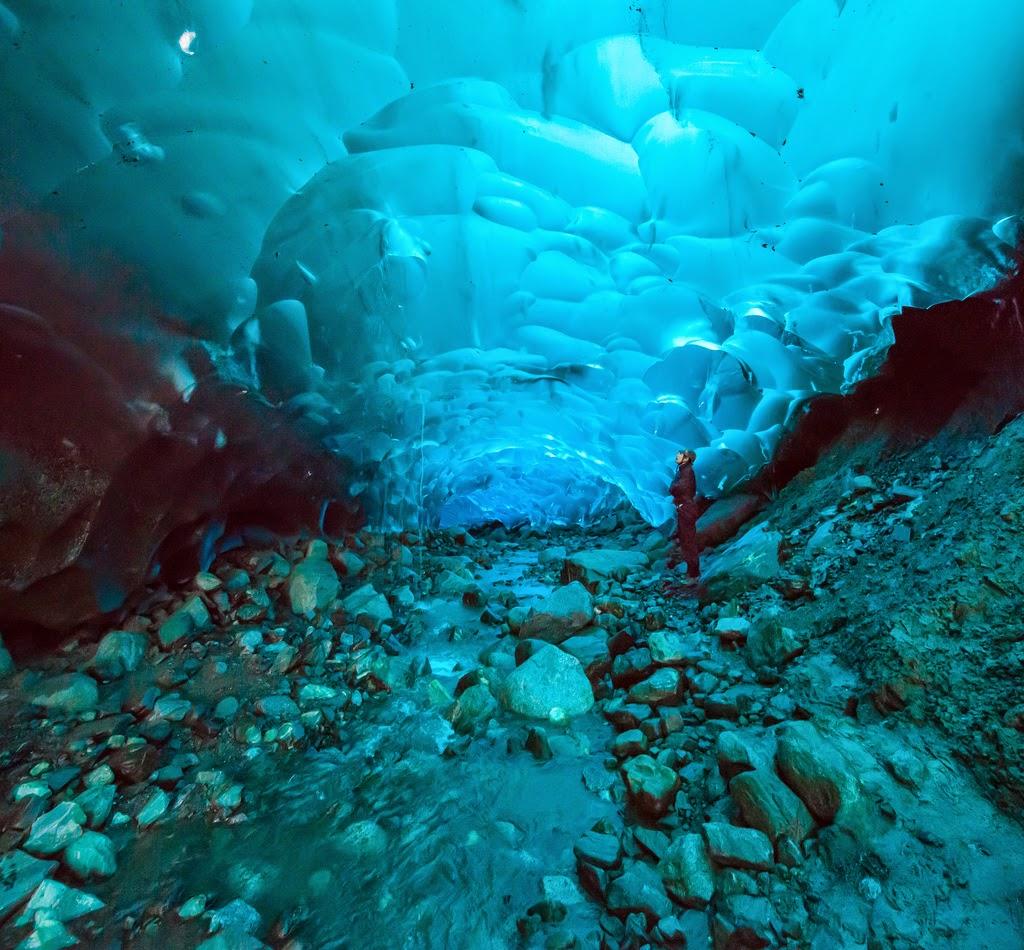 El glaciar Mendenhall, Alaska – EEUU