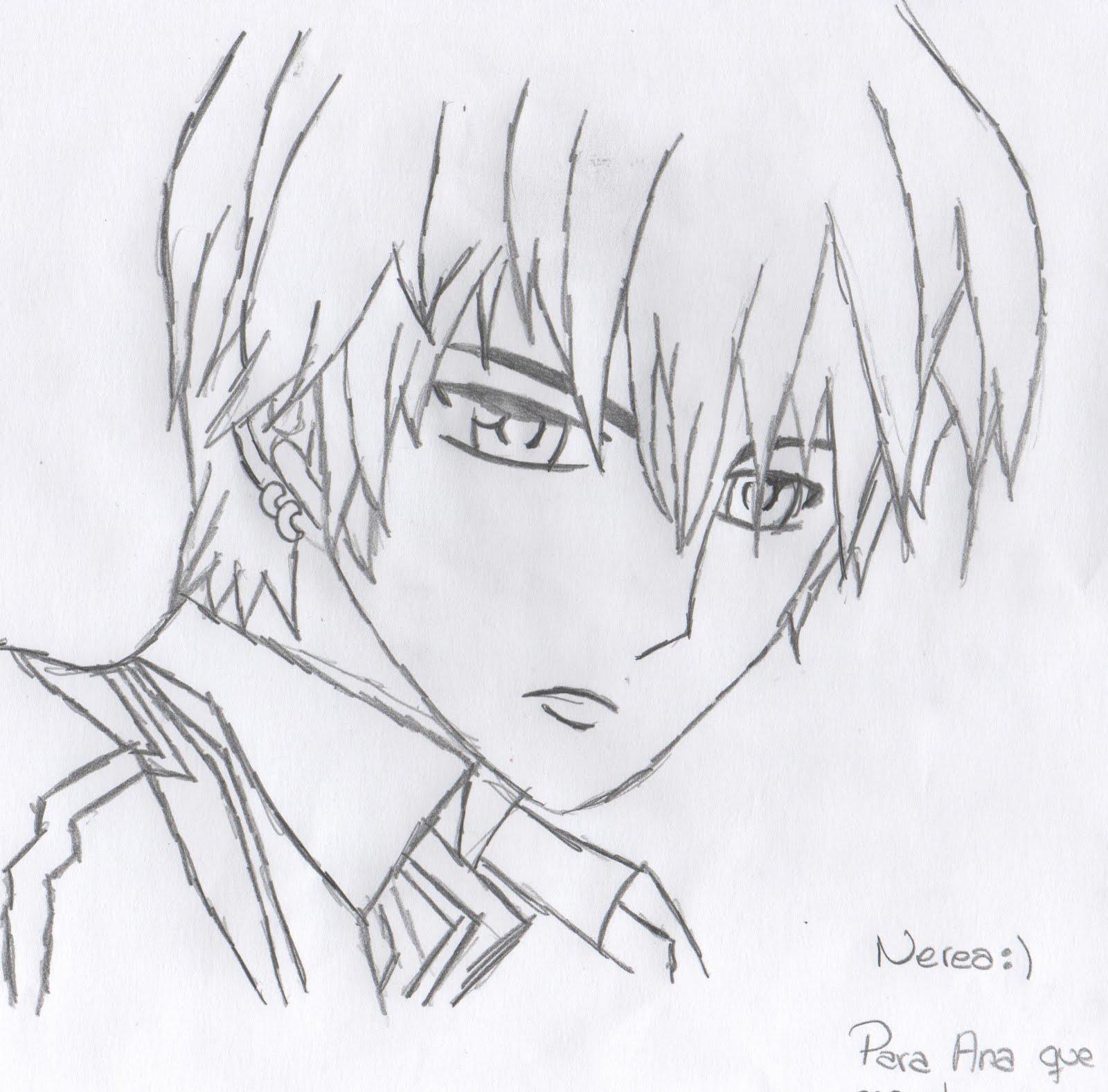 Manga/Anime World: Mis Dibujos