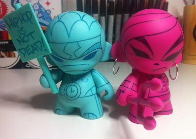 kaNO Sketch Series 1 - Custom Mini Munny Vinyl Figuress