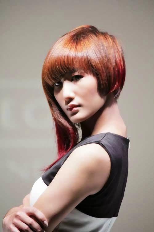 Gaya Rambut Warna Trend 2015