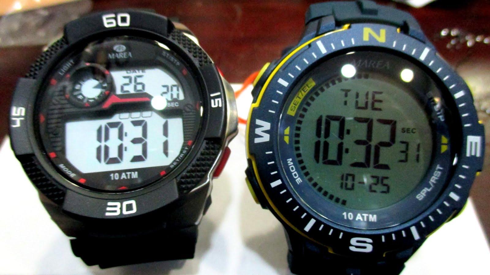 Relojes digitales Marea
