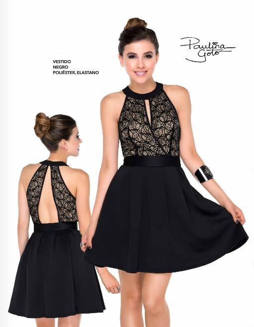 Vestidos de fiesta de color negro