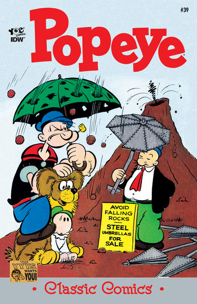 POPEYE CLASSIC COMICS!