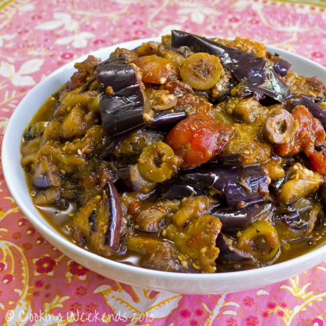 Street Food's Romanian Sweet And Sour Eggplant Recipe ...