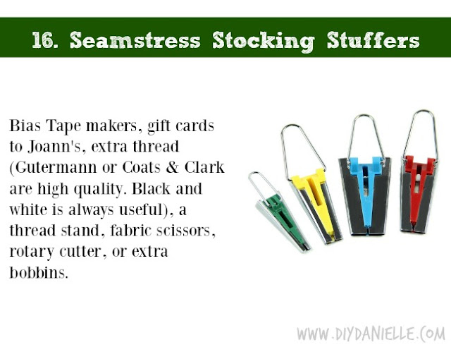 Holiday DIY Gift Guide: Seamstress Stocking Stuffers