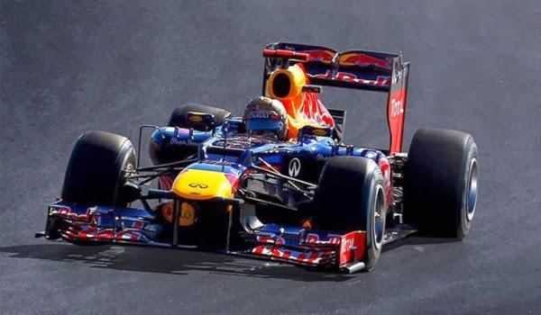 Formula 1 2012 Sebastian Vettel/ RBR