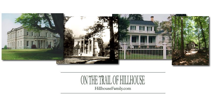ON THE TRAIL OF HILLHOUSE