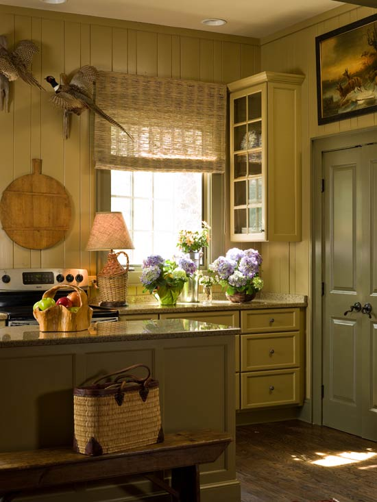 New Home Interior Design Colorful Kitchens With Charisma