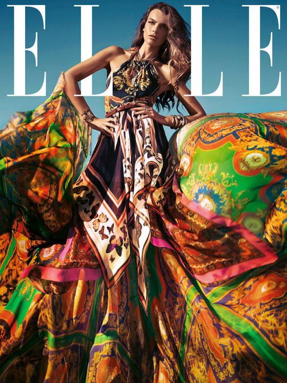 Filippa Hamilton para Elle España