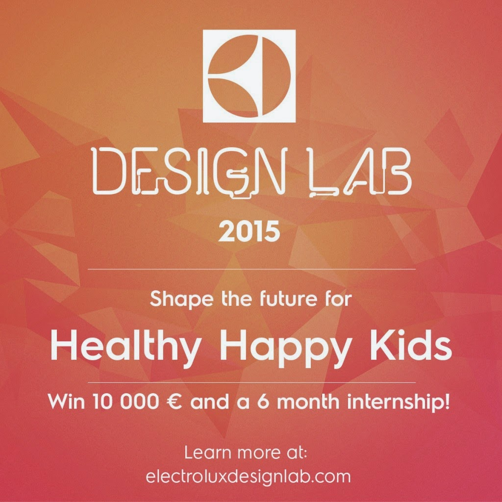 Electrolux Doubles the Prize in 2015 Design Lab Competition