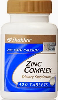 kelebihan dan kebaikan zinc complex shaklee