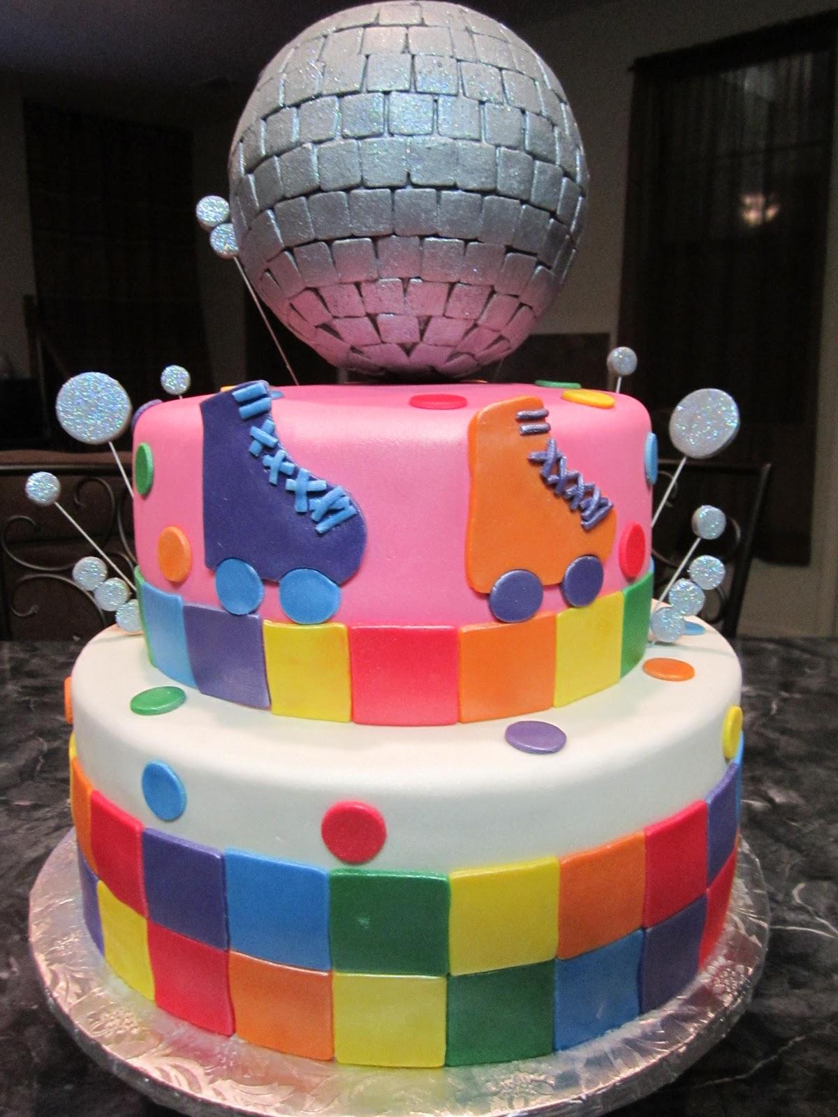 Skate Cake Decoration