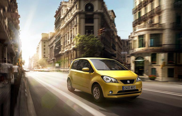Seat Mii το αυτοκίνητο πόλης της ισπανικής φίρμας