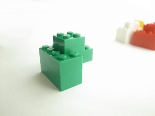 レゴ作品 レゴゴリラ緑