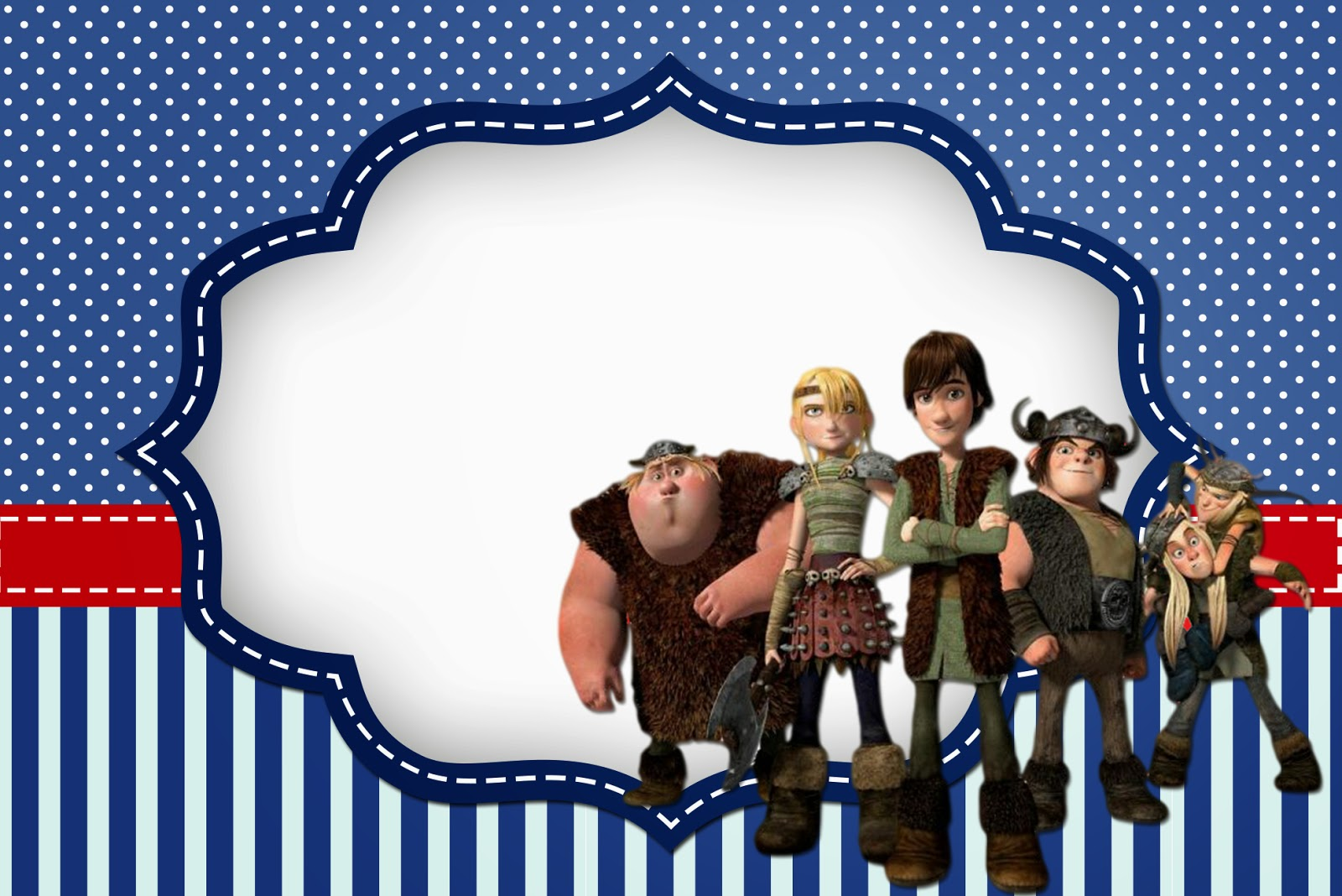 How to Train Your Dragon Invitations Printable Free